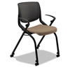 chairs & sofas: Motivate Nesting/Stacking Chair Flex Back Upholstered Seat