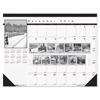 House Of Doolittle House of Doolittle™ Black-on-White Photo 100% Recycled Monthly Desk Pad Calendar HOD 122