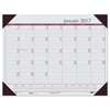 planners: House of Doolittle™ EcoTones® 100% Recycled Monthly Desk Pad Calendar