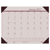 House Of Doolittle House of Doolittle™ EcoTones® 100% Recycled Monthly Desk Pad Calendar HOD 12470