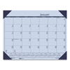 House Of Doolittle Recycled EcoTones Sunset Orchid Monthly Desk Pad Calendar, 22 x 17, 2021 HOD 12473