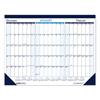 House Of Doolittle Three Month Desk Pad Calendar, 22 x 17, 2020-2022 HOD 136