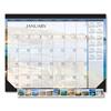 House Of Doolittle Earthscapes Seascapes Desk Pad Calendar, 18.5 x 13, 2021 HOD 1386