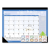 House Of Doolittle Earthscapes Seasonal Desk Pad Calendar, 18.5 x 13, 2021 HOD 1396