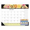 House Of Doolittle 100% Recycled Geometric Desk Pad Calendar, 22 x 17, 2021 HOD 149