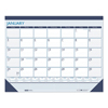 House Of Doolittle House of Doolittle™ 100% Recycled Contempo Desk Pad Calendar HOD 151