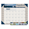 House Of Doolittle House of Doolittle™ Earthscapes™ 100% Recycled Motivational Monthly Desk Pad Calendar HOD 175