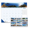 Clean and Green: Recycled Coastlines Photographic Monthly Desk Pad Calendar, 18 1/2 x 13, 2019