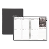 Clean and Green: Weekly Planner w/Black-&-White Photos, 8-1/2 x 11, Black, 2019