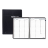 Clean and Green: Recycled Professional Academic Weekly Planner, 11 x 8 1/2, Black, 2019-2020