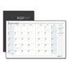 House Of Doolittle House of Doolittle™ 100% Recycled Ruled 14-Month Planner with Stitched Leatherette Cover HOD 26002