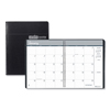 Clean and Green: Recycled Ruled Monthly Planner, 14-Month Dec.-Jan., 8 3/4 x 6 7/8, Black, 2019-2021