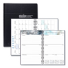 Ring Panel Link Filters Economy: Recycled Academic Weekly/Monthly Appointment Book/Planner, 5x8, Black, 2018-2019