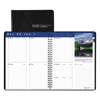 Ring Panel Link Filters Economy: Recycled Earthscapes Weekly Appointment Book, 8-1/2 x 11, Black, 2019