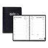 Clean and Green: Daily Appointment Book, 15-Minute Appointments, 5 x 8, Black, 2019