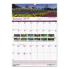 House Of Doolittle House of Doolittle™ Earthscapes™ 100% Recycled Gardens of the World Monthly Wall Calendar HOD 303