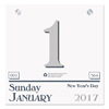 House Of Doolittle House of Doolittle™ 100% Recycled Today Wall Calendar Refill HOD 311