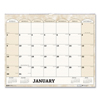 Ring Panel Link Filters Economy: Recycled Monthly Horizontal Wall Calendar, 14 7/8 x 12, 2019