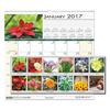 House Of Doolittle House of Doolittle™ Earthscapes™ 100% Recycled Floral Monthly Wall Calendar HOD 326
