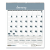 Ring Panel Link Filters Economy: House of Doolittle Bar Harbor Wirebound Monthly Wall Calendar
