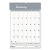 House Of Doolittle House of Doolittle™ Bar Harbor 100% Recycled Wirebound Monthly Wall Calendar HOD 331HD