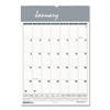 House Of Doolittle House of Doolittle™ Bar Harbor 100% Recycled Wirebound Monthly Wall Calendar HOD 332
