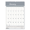 Ring Panel Link Filters Economy: Recycled Bar Harbor Wirebound Monthly Wall Calendar, 22 x 31 1/4, 2019