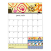 Clean and Green: 100% Recycled Geometric Wall Calendar, 12 x 16 1/2, 2019