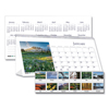 Clean and Green: Recycled Scenic Photos Desk Tent Monthly Calendar, 8 1/2 x 4 1/2, 2019