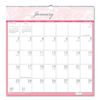 House Of Doolittle Recycled Breast Cancer Awareness Monthly Wall Calendar, 12 x 12, 2021 HOD 3671
