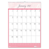 House Of Doolittle House of Doolittle™ Breast Cancer Awareness 100% Recycled Monthly Wall Calendar HOD 3672