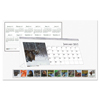 House Of Doolittle House of Doolittle™ Earthscapes™ 100% Recycled Wildlife Desk Tent Monthly Calendar with Photos HOD 3689