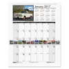 House of Doolittle House of Doolittle™ Earthscapes™ 100% Recycled Classic Cars Monthly Wall Calendar HOD 3771