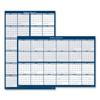 Ring Panel Link Filters Economy: House of Doolittle Reversible/Erasable 2 Year Wall Calendar