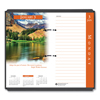 Ring Panel Link Filters Economy: Earthscapes Desk Calendar Refill, 31/2 x 6, 2019