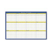 Ring Panel Link Filters Economy: House of Doolittle™ 12-Month Laminated Wall Planner