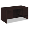 Pedestal Desks: HON® 10500 Series™ Double Pedestal Desk