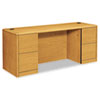 Ring Panel Link Filters Economy: HON® 10700 Series Kneespace Credenza with Full-Height Pedestals