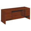 HON HON® 10700 Series™ Kneespace Credenza with Three-Quarter Height Pedestals HON 10743CO