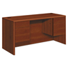 Desks & Workstations: HON® 10700 Series™ Kneespace Credenza with Three-Quarter Height Pedestals