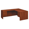 HON HON® 10700 Series™ L Workstation Desk with Three-Quarter Height Pedestal on Right HON 10783RCO