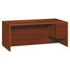 HON HON® 10700 Series™ Single Pedestal Desk with Three-Quarter Height Right Pedestal HON 10785RCO