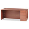 Pedestal Desks: HON® 10700 Series Single Pedestal Desk with Full-Height Pedestal on Right