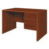 HON HON® 10700 Series™ Single Pedestal Desk with Three-Quarter Height Right Pedestal HON 107885RCO