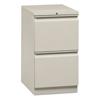 "Filing cabinets: HON® Flagship® Mobile File/File Pedestal File with ""R"" Pulls"