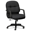 chairs & sofas: HON® Pillow-Soft® 2090 Series Managerial Mid-Back Swivel/Tilt Chair
