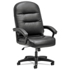 hon: HON® Pillow-Soft® 2090 Series Executive High-Back Swivel/Tilt Chair