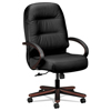 leatherchairs: HON® Pillow-Soft® 2190 Series Executive High-Back Chair