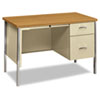 Desks & Workstations: HON® 34000 Series Single Pedestal Desk