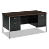 HON HON® 34000 Series Double Pedestal Desk HON 34962MOP